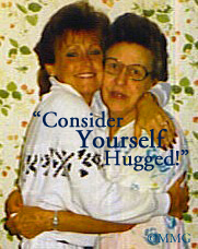 """Consider Yourself Hugged!"" by my Mom & Me!"